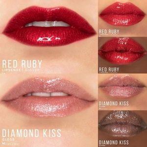 Red Ruby and Diamond Kiss Gloss